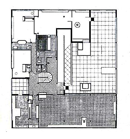 ผังพื้นชั้น 2 ของ  เป็นพื้นที่ใช้สอยหลักของบ้าน